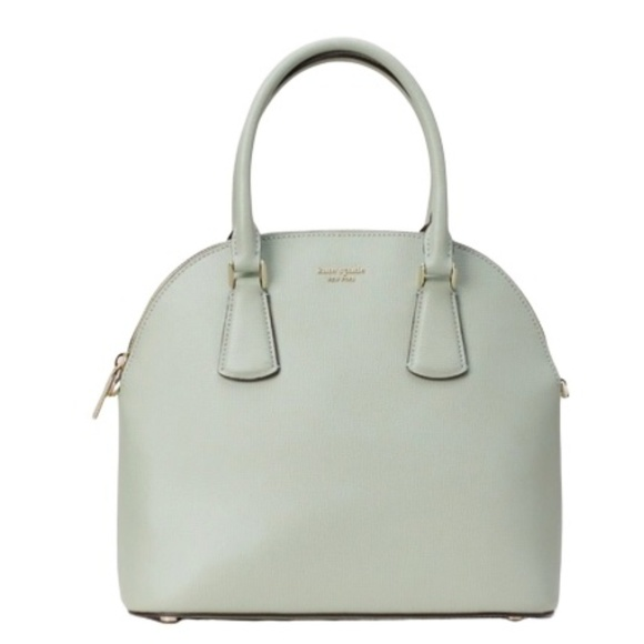 kate spade Handbags - Kate Spade Sylvia Lg Dome Satchel Light Pistachio